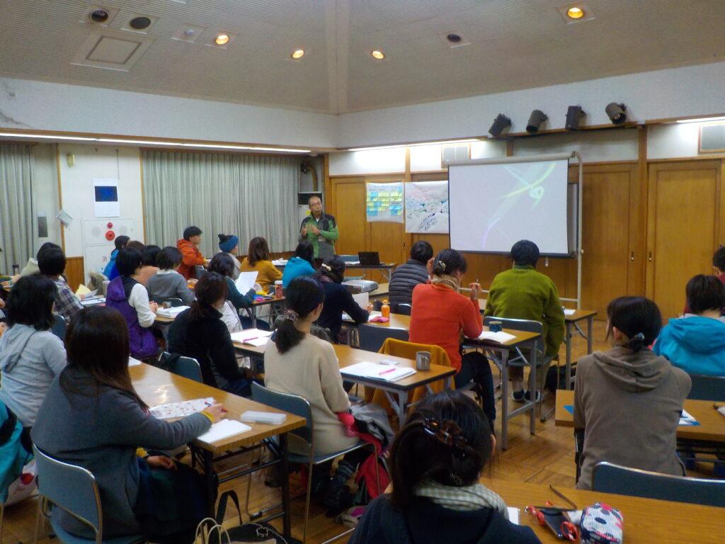 森のようちえん指導者養成講座@神奈川・黒川青少年野外活動センター(12/5-6)