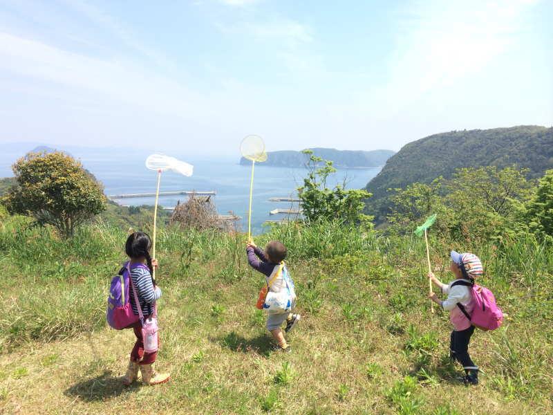 【インターン・スタッフ募集】?島を遊びこむ「お山の教室」?
