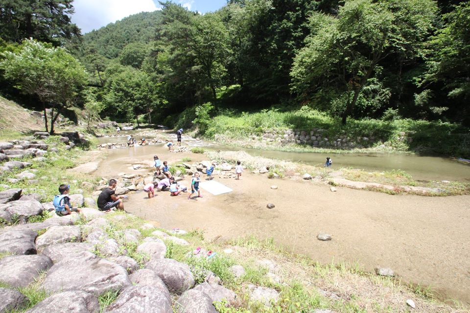 水辺(川)の活動への注意喚起