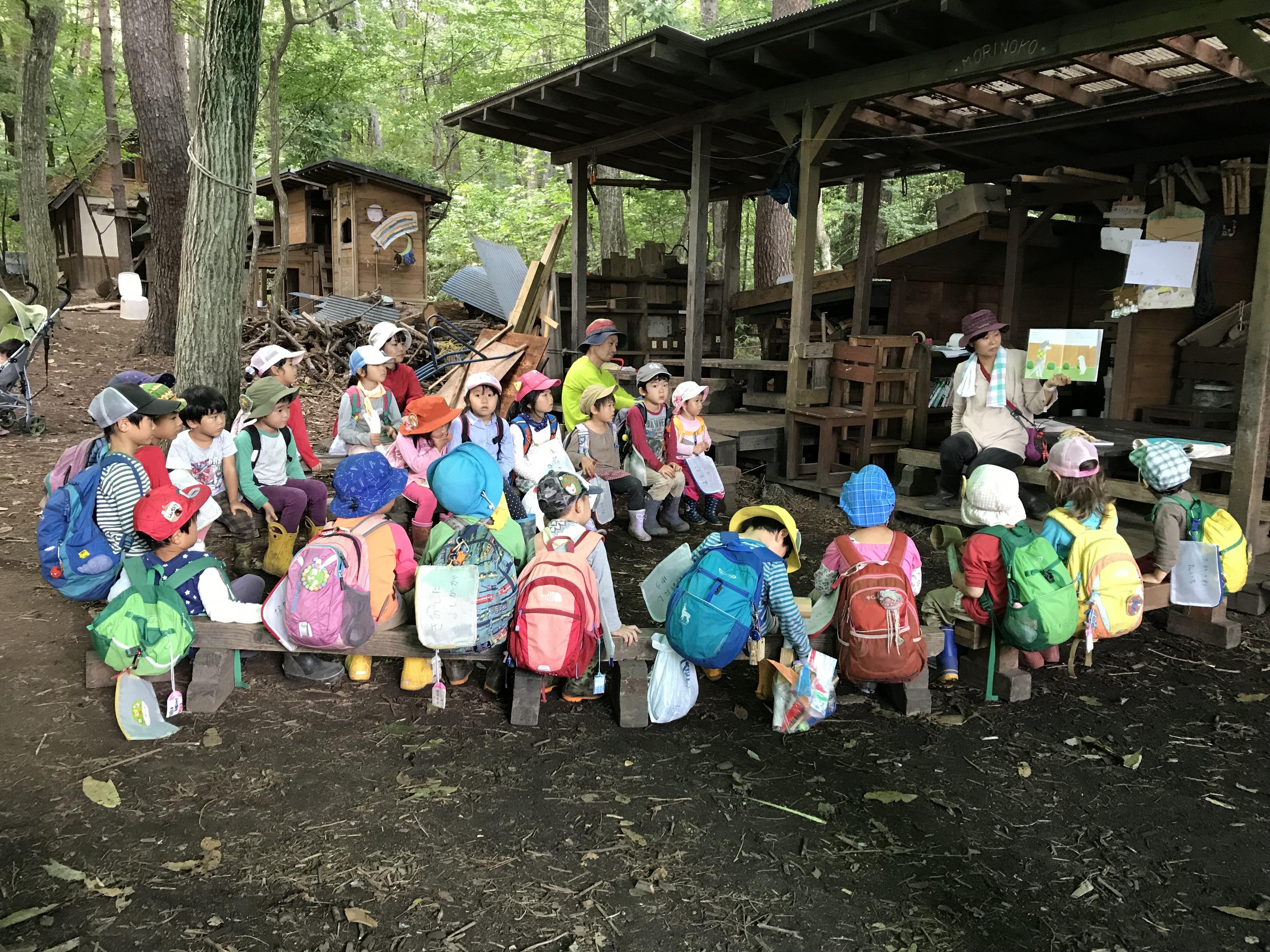 [長野県安曇野市]野外保育 森の子 入園説明会♪