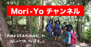 youtube「Mori-Yoチャンネル」始まります!
