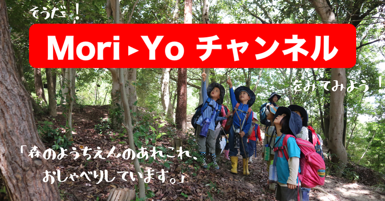YouTube動画「Mori-Yoチャンネル」公開のお知らせ