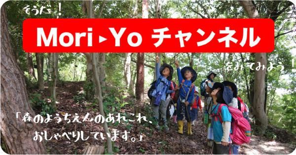 youtube「Mori-Yoチャンネル」へ