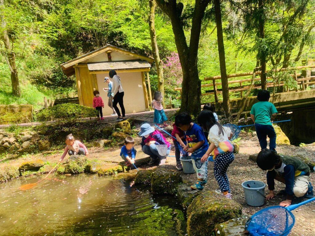 相模原市にある園舎のない自然派幼児園「つちのこくらぶ」